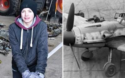 Dánský chlapec objevil havarované nacistické letadlo i s pilotovým tělem přímo na louce. S otcem se mu ho nakonec podařilo vykopat