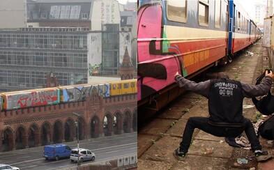 Daor, slovenská legenda svetového graffiti, skrášlil už tisíce vagónov. Z Japonska je vyhostený a teraz ho čaká jeho prvá výstava (Rozhovor)