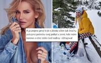 Dara Rolins prišla z Česka na pracovnú cestu do Tatier. Schytala tvrdú kritiku za fotky z hôr, úsmev je dnes podľa nej provokáciou