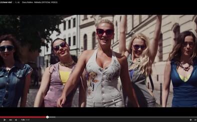 Dare Rolins kryjú v energickej novinke chrbát tanečníci zo Street Dance Academy