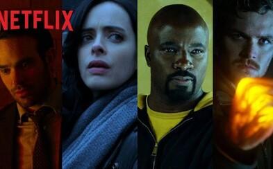 Daredevil a Stick formujú v debutovom traileri plnom pästných súbojov tím Defenders. Spoločne sa postavia proti znovuzrodenej Elektre