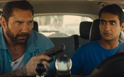 Dave Bautista zo Strážcov Galaxie a Uber taxikár Kumail Nanjiani spájajú sily v akčnej komédii
