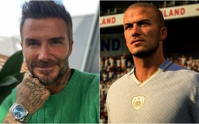 David Beckham dostane za FIFA 21 více, než vydělával během kariéry v Manchester United. Podepsal smlouvu na 1,2 miliardy korun