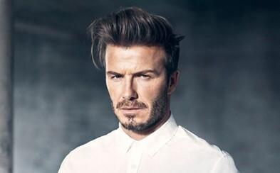 David Beckham sa nám pripomína na sexepílom nabitých fotografiách pre H&M