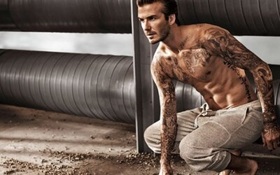 David Beckham v akčnej reklame pre svoju novú kolekciu H&M
