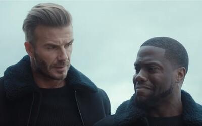 David Beckham zachránil Kevina Harta pred hadom vo vtipnej reklame pre H&M