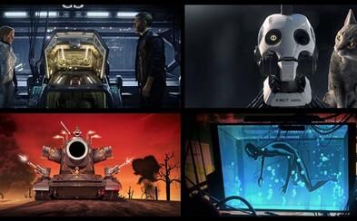 David Fincher a režisér Deadpoola natočia pre Netflix futuristické a psychologické krátke animované filmy
