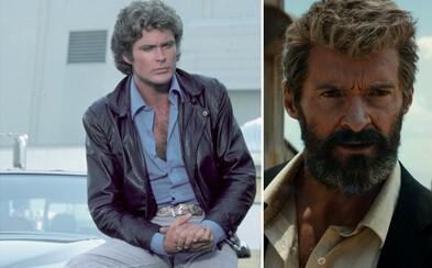 David Hasselhoff by chcel, aby sa reboot kultového Knight Ridera niesol v temnej atmosfére v štýle Logana