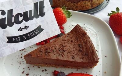 Dávka čokolády v podobe chutného nízkosacharidového cheesecakeu (Recept)