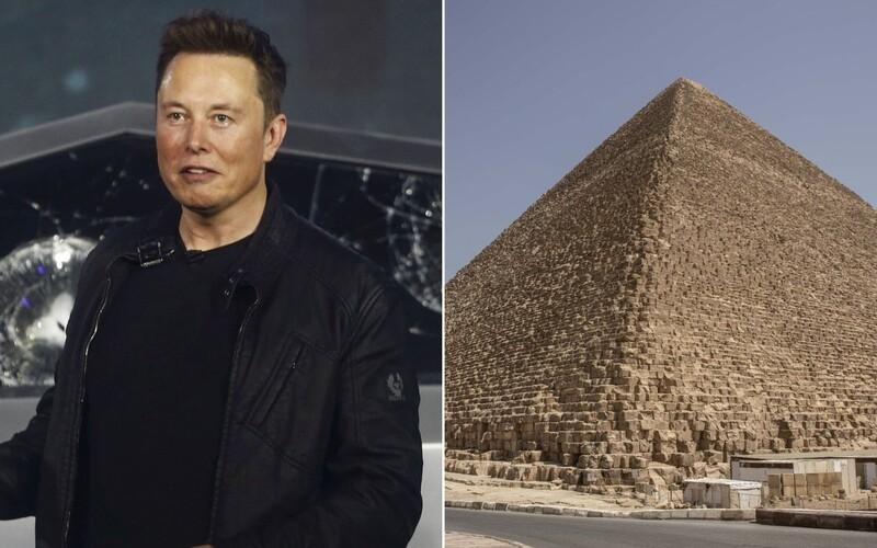Pyramídy postavili mimozemšťania, napísal Elon Musk. Egyptská ministerka ho pozvala na exkurziu, aby spoznal pravdu.
