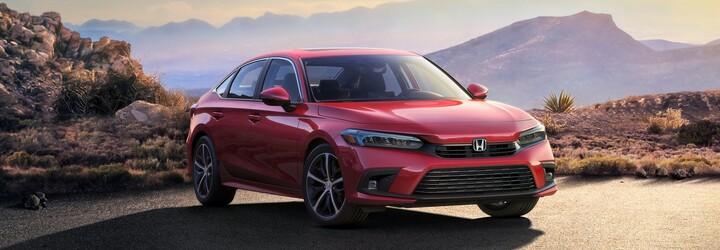 Honda představila slavný Civic již v 11. generaci, zatím ale jen jako sedan