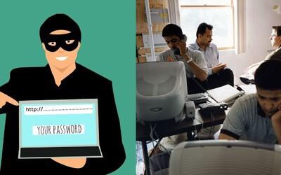 Pozri sa ako reagujú internetoví podvodníci, ktorým hackeri v priamom prenose mažú všetky dáta