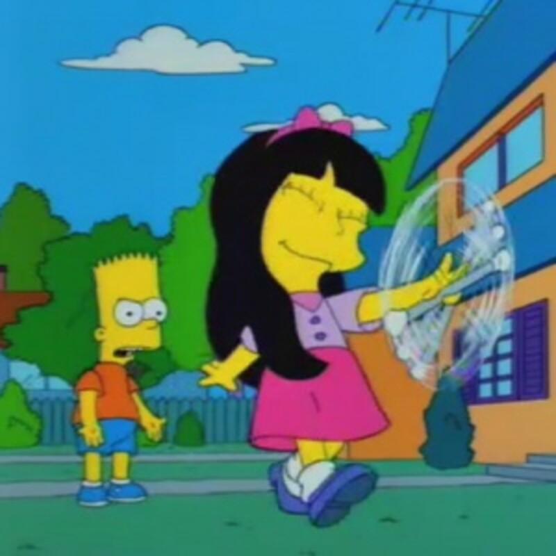 Ako sa volalo prvé Bartovo dievča?