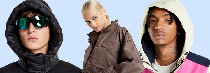 Podzimní a zimní bundy, které budeš chtít ve svém šatníku. V kurzu jsou modely od The North Face, Helly Hansen i Nike