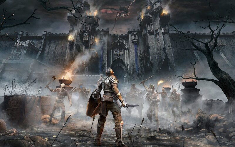 Demon's Souls je nejkrásnější hrou na PlayStation 5. Budeš v ní bojovat s draky, obry a obrovskými pavouky.