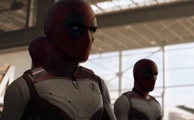 Deadpool opět ovládl ukázku z Avengers: Endgame. Tentokrát dostal ránu Stormbreakerem a šíp do hlavy