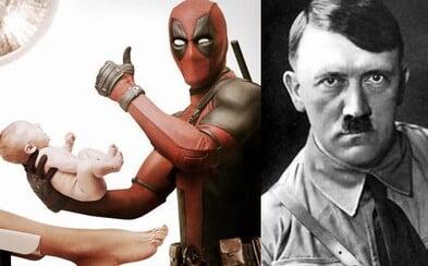Deadpool plánuje vo vystrihnutej scéne zabiť Hitlera a aj samého seba. Predĺžená verzia taktiež prináša viac sexuálnych vtipov