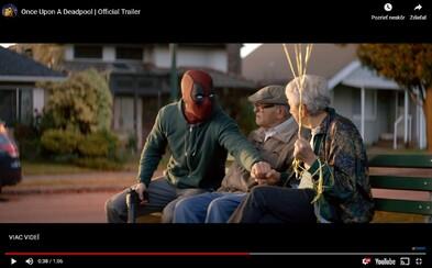 Deadpool sa vzdal nadávok a krvi. V decembri ho uvidíme v novej verzii filmu pre deti!