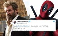 Deadpool si opäť uťahuje z Wolverina. Aktuálne k tomu využil 10 year challenge