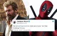 Deadpool si opět utahuje z Wolverina. Aktuálně k tomu využil 10 year challenge