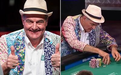 Dědeček si chtěl ve Vegas splnit pokerový sen a už vyhrál minimálně 1 milion dolarů. Pokud se mu poštěstí, domů může odejít až s 8 miliony