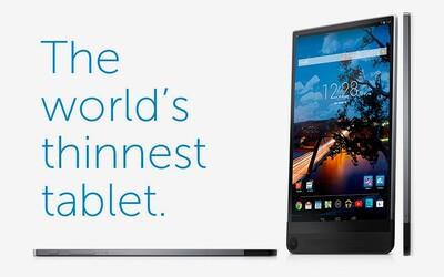 Dell Venue 8 7000: privítajte najtenší tablet na svete, tenší dokonca aj ako iPad Air 2