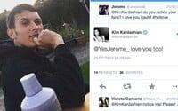 Dělník vydělává na Twitteru 5 tisíc eur ročně díky Kim Kardashian. Stačila mu její jediná odpověď