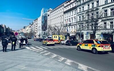 Demonstrace na Václavském náměstí skončila po pár minutách (Aktualizováno)
