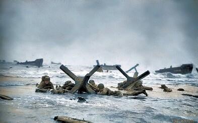 Deň (D), kedy sa desaťtisíce spojencov vylodilo na plážach Normandie, aby urýchlilo pád Tretej ríše