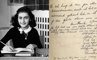 Desetiletí nerozluštěné tajné zápisky z deníku Anny Frankové obsahují vtipy o sexu. Vyjadřuje se také o prostituci či sexuální výchově
