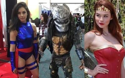 Desiatky cosplayerov z Comic-Conu odhalili viac než kvalitné kostýmy a krásne ženské telá