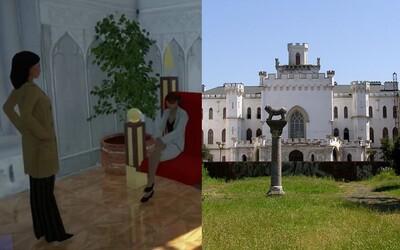 Design jako z The Sims nebo Minecraftu? Rekonstrukce slovenského zámku je k smíchu