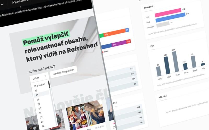 Detailné štatistiky pre cielenie programmatic a natívnych kampaní na REFRESHERI. Ako ich najviac využiť?