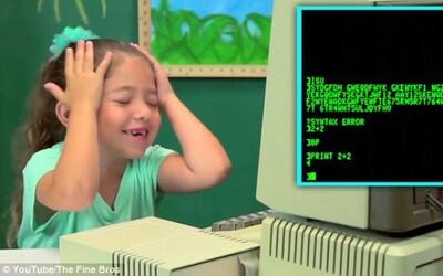 Deti a ich stretnutie s prvými počítačmi