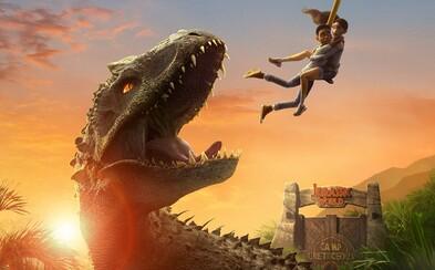 Děti se vydají na ostrov plný masožravých dinosaurů. Nový Jurský svět na Netflixu bude napínavý animovaný seriál