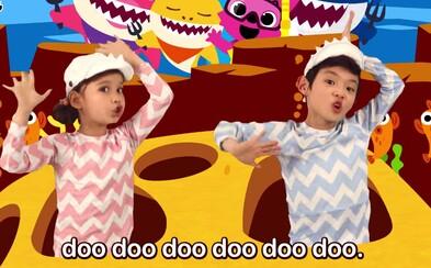 Dětský hit Baby Shark je nejpřehrávanějším videem na YouTube, porazil i Despacito