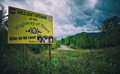 Dálnice slz: Nechvalně proslulá kanadská silnice, kde byly zavražděny nebo uneseny už desítky žen
