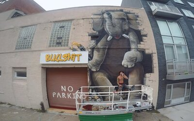 Dian z Life is Porno: Verejnosť začína vnímať streetart oveľa pozitívnejšie ako v minulosti (Rozhovor)