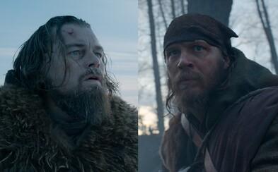 DiCaprio a Hardy se během natáčení Revenanta vsadili o tetování. O co šlo a kdo vyhrál?