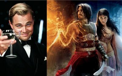 DiCapriov Veľký Gatsby, Gyllenhaalov Princ z Perzie či široký úsmev Julie Roberts. Televízny program nasledujúcich dní poteší každého diváka