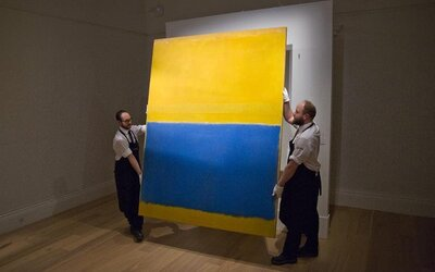 Dielo amerického surrealistického maliara bolo vydražené za 46,5 milióna dolárov