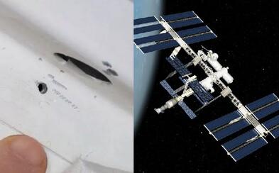 Díru v ruském modulu Mezinárodní vesmírné stanice pravděpodobně někdo vyvrtal schválně