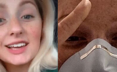 Dievča, ktoré sa na Instagrame vysmievalo karanténe, dostalo koronavírus. Zrejme ho chytilo na párty