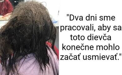 Dívka s depresí se chtěla okamžitě zbavit vlasů, kadeřnice však odmítla. Na jejich zachráně pracovala neuvěřitelné dva dny