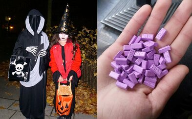 Dievčatká sa z Halloweenu vrátili s 10 tabletami extázy. Dobrodinec im drogy hodil do vrecka so sladkosťami