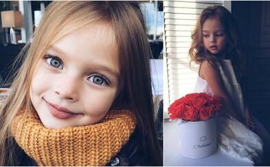 Děvčátku s andělskou tváří Anně Pavaga je pouhých šest let, ale už nyní jí předpovídají slušnou modelingovou kariéru