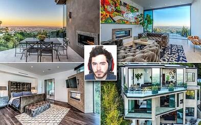 Díky hraní Minecraftu milionářem: YouTuber si koupil sídlo za 4 miliony eur na Hollywood Hills