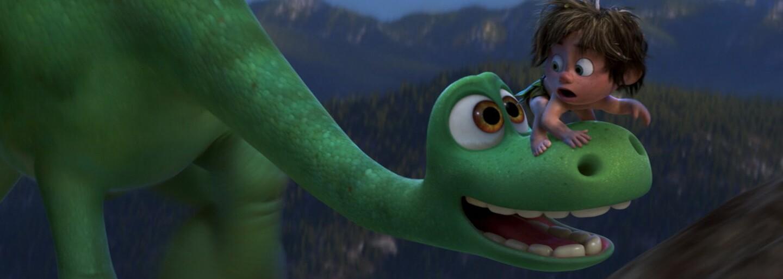 Dinosaurus Arlo prekračuje hranice svojho strachu v najnovšom TV spote