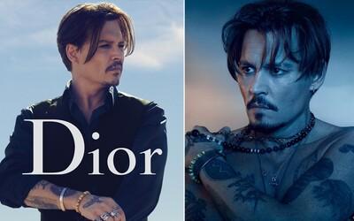 Dior odmítl zrušit spolupráci s Johnnym Deppem navzdory prohranému soudu. Prodeje parfému s hercem rychle narostly