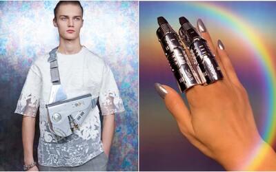 Dior predstavil novú sci-fi kolekciu plnú futuristických prvkov, chrómových textílií či robotických šperkov
